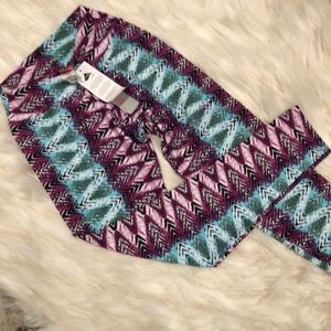 Pants - New with Tags! Tribal print yoga pants leggings